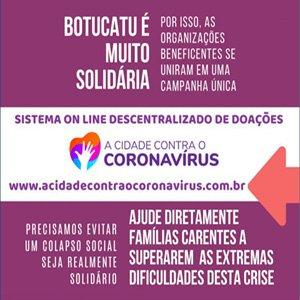 Sistema Online descentralizado de doações de Botucatu – SP