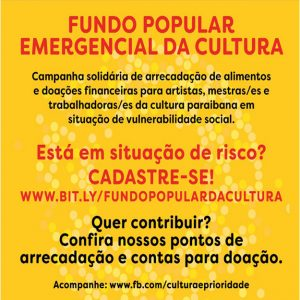 Fundo Popular Emergencial da Cultura