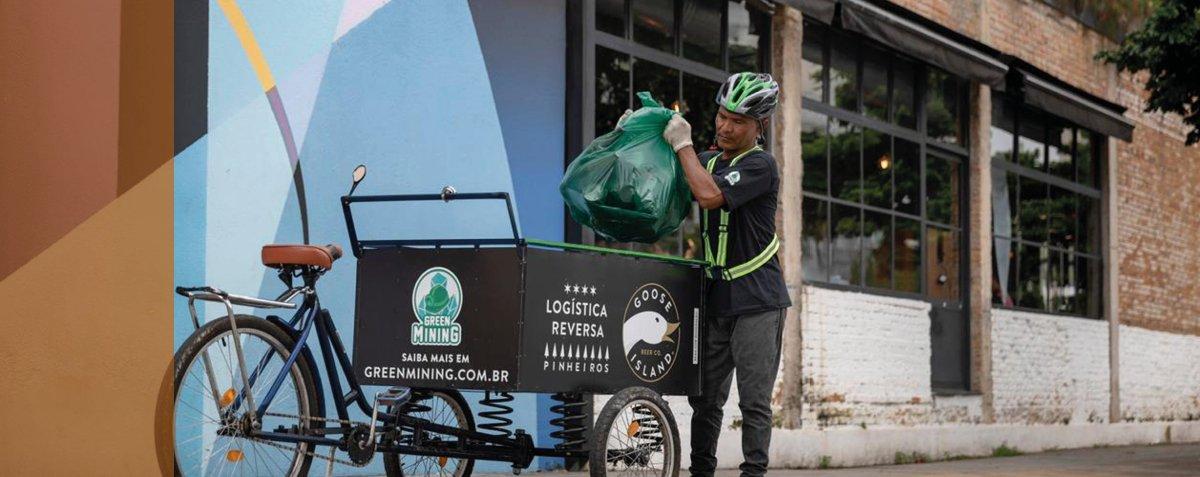 Startup coleta 1 milhão de quilos de vidro para reciclagem